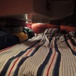 Min säng för ett par månader framöver.