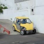 Konstiga bilar på Madeira