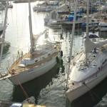 2 Svenska båtar på samma ställe