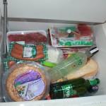 Kylskåp med bara viktiga saker