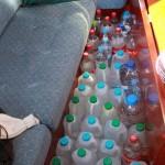 1 månad i Holland gör att man har gott om flaskor att fylla!